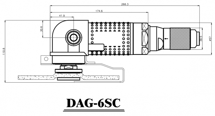 DAG-6SC_outer dimenstion